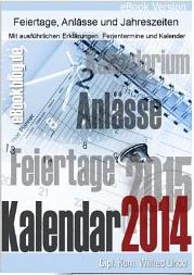 3 Kalendarium Kalender 2014   2015