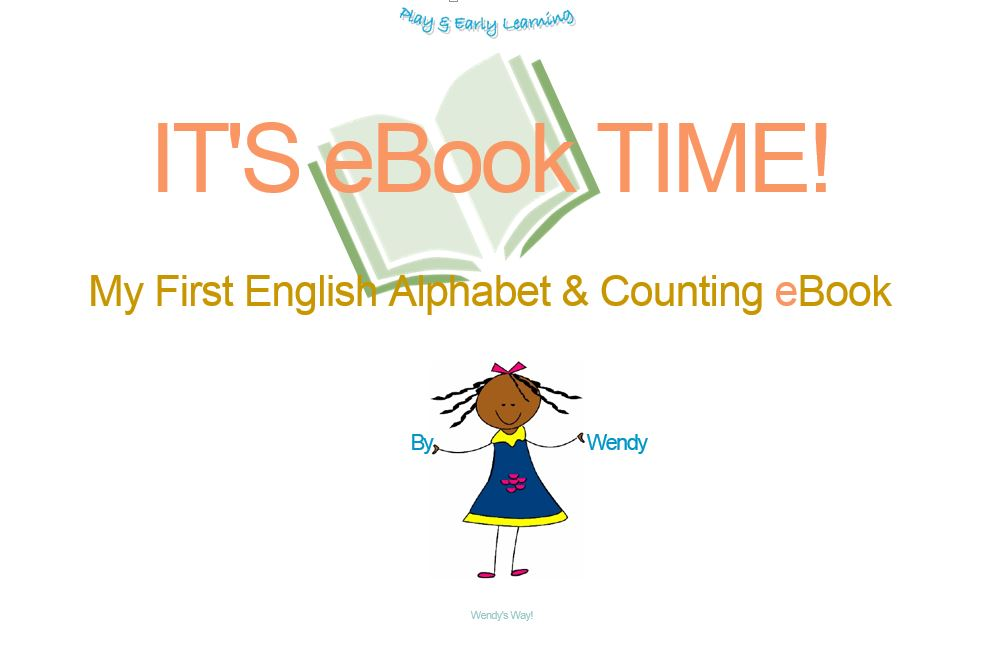 W.J. Kuchta – IT'S eBook TIME!: My First English Alphabet & Counting eBook eBook