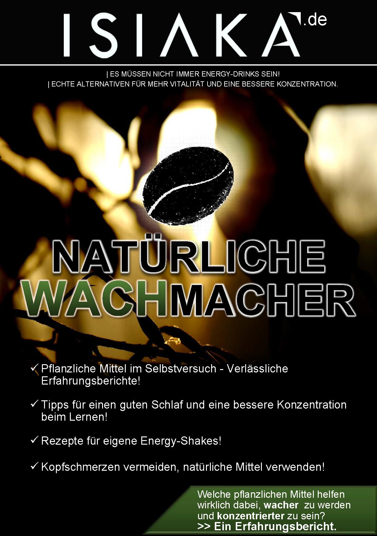 Thomas Bayer – Natürliche Wachmacher