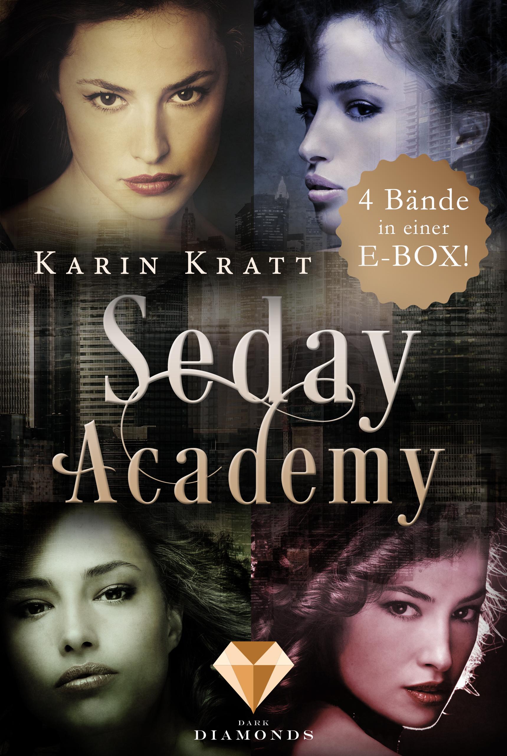 Karin Kratt – Die E-Box der erfolgreichen Fantasy-Reihe »Seday Academy«: Band 1-4 (Seday Academy )